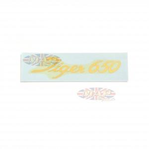 DECAL/  TIGER 650  (LARGE SCRIPT) 60-1918