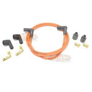 """Universal 48"""" 7mm Copper Wire Core Orange Silicone Cover Kit MAP4189"""