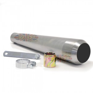 Reverse Cone Megaphone Muffler No Baffle Raw 80-84029R