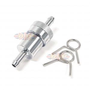 Fuel Filter- Inline Die-Cast Chrome 5/16 14-34460